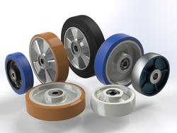 Afbeelding Wheels medium duty 150kg - 1.000kg load capacity